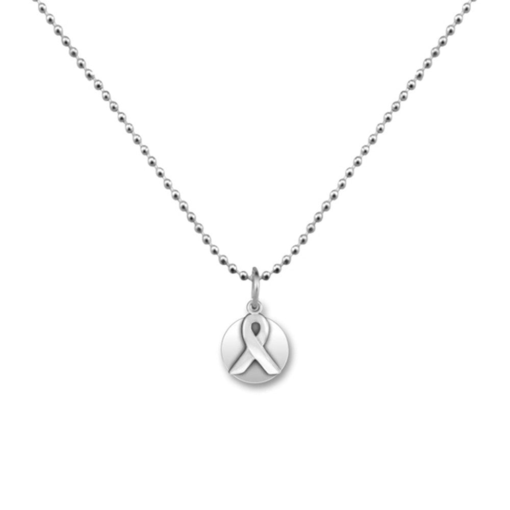 Skyrim Link or Ball Chain Breast Cancer Awareness Pendant  Necklaces Jewelry