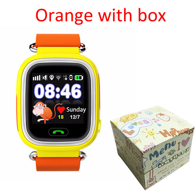 Child GPS Smart Watch With Wifi Touch Screen SOS Call Location (3 Styles)