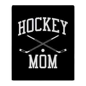 "Hockey Mom Soft Fleece Throw Blanket 39""x 49"""