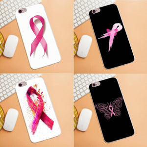 Breast Cancer Awareness TPU Coque Case Capa For iPhone
