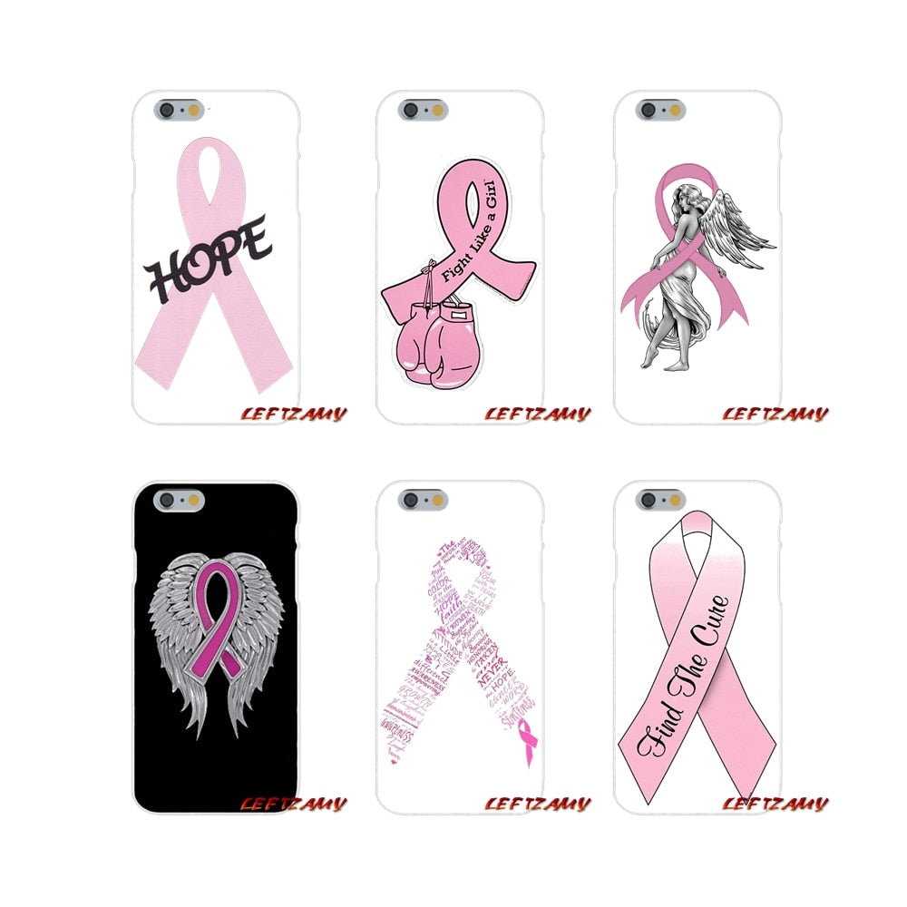 Breast Cancer Awareness Ultra Thin Cell Phone Case For iPhone and ipod touch