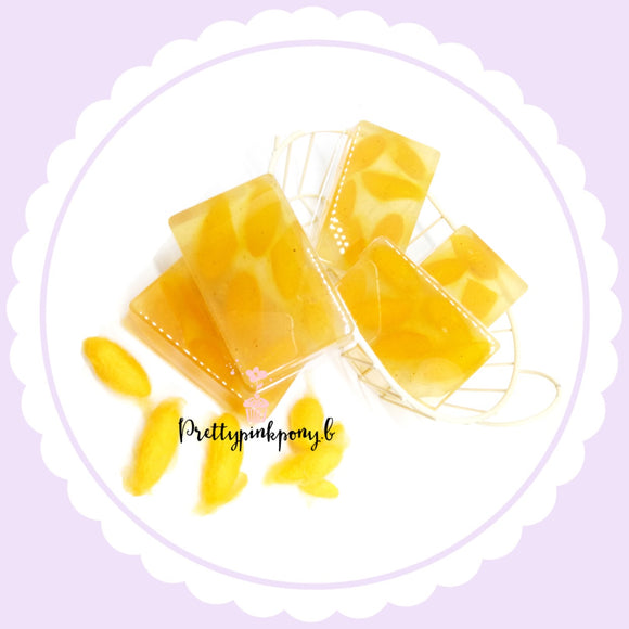Wild Turmeric and Pure Honey - Silkworm Cocoon scrub - Facial Soap (65g)