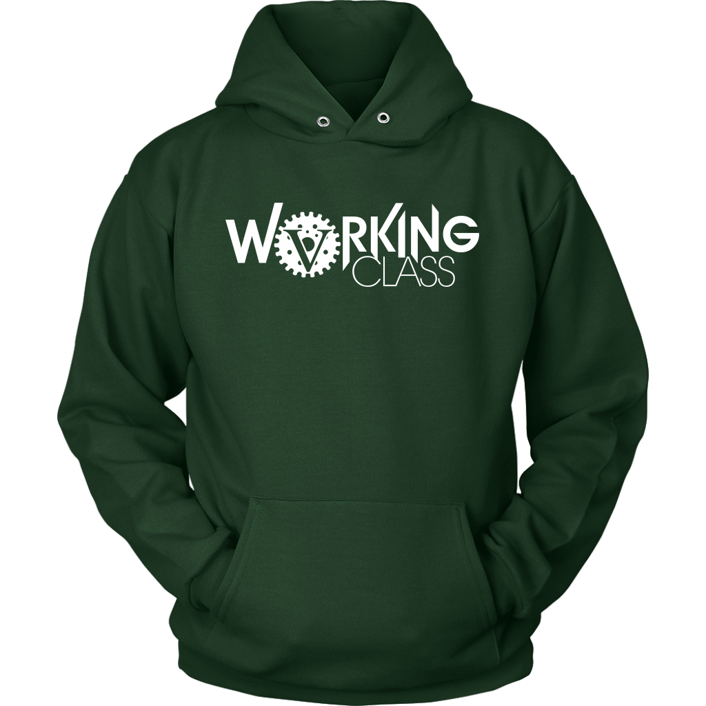 Working Class Unisex Hoodie (White Logo) - Big V of Nappy Roots