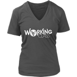 Working Class Women's V-Neck (White Logo) - Big V of Nappy Roots