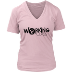 Working Class Women's V-Neck (Black Logo) - Big V of Nappy Roots
