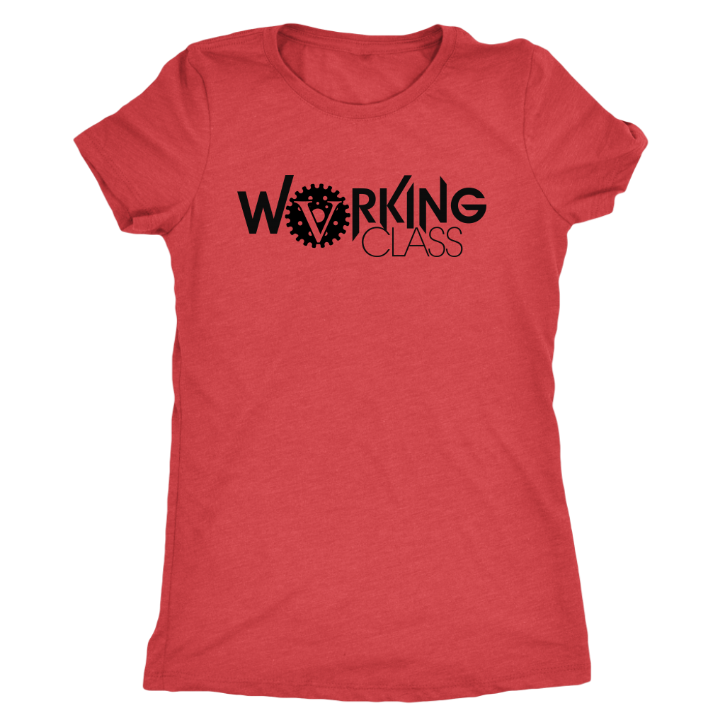 Working Class Women's Triblend (Black Logo) - Big V of Nappy Roots