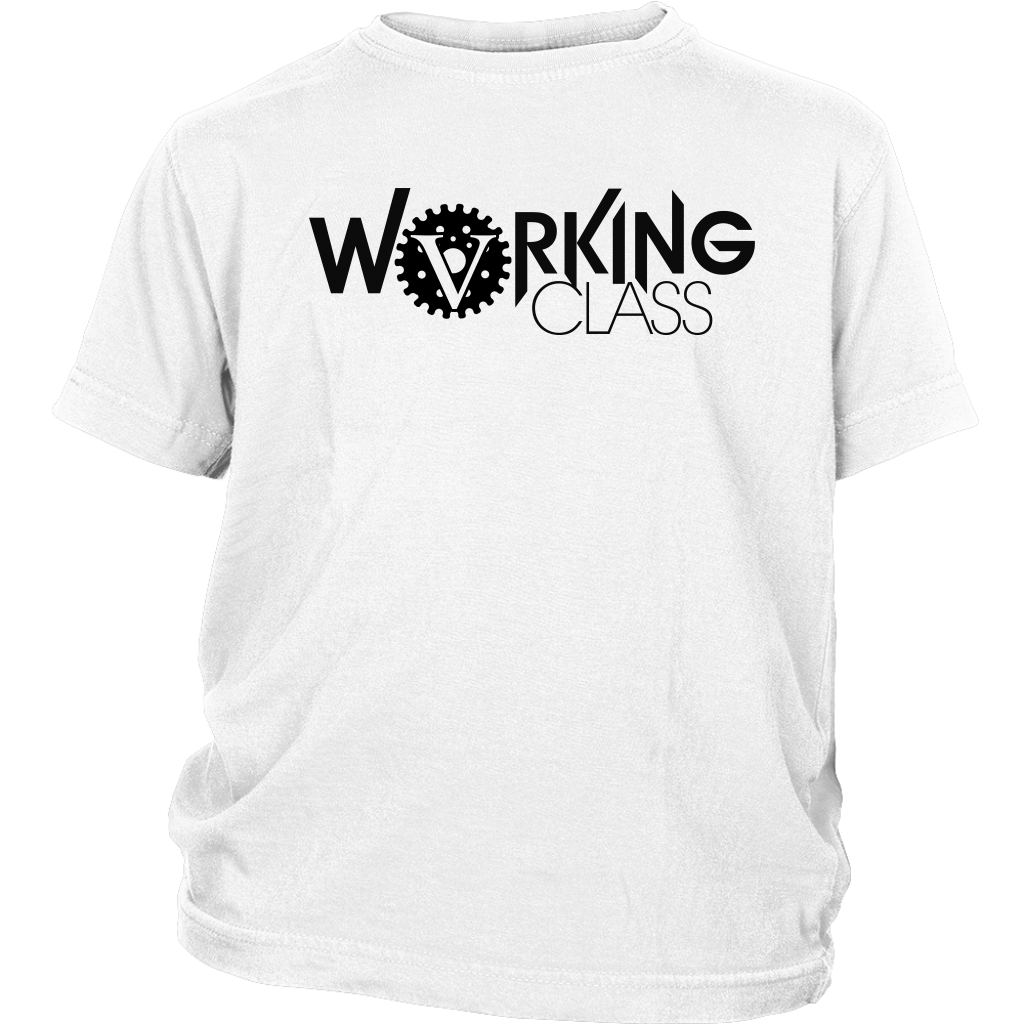Working Class Youth Shirt (Black Logo) - Big V of Nappy Roots