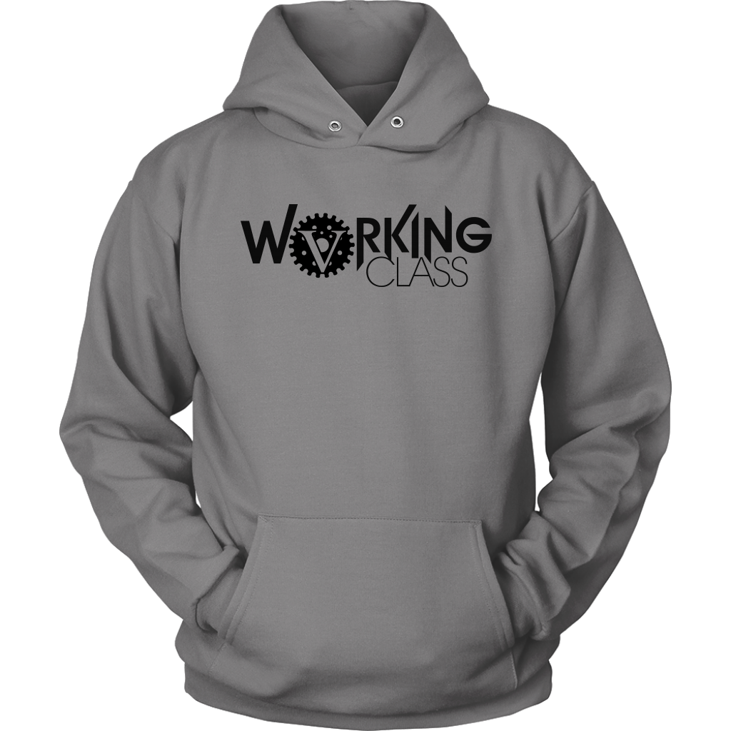 Working Class Unisex Hoodie (Black Logo) - Big V of Nappy Roots