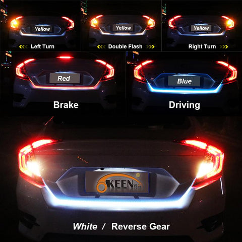 Led trunk light for car universal awesurf premium quality our led strip light is designed for long term use and is resistant to moisture weather impacts and car washes aloadofball Gallery