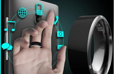 Smart Ring For All Phones (Android, IOS & More)