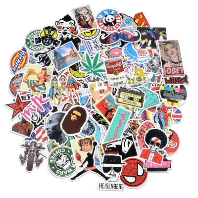 Premium Stickers Decals Vinyls (200 pcs)
