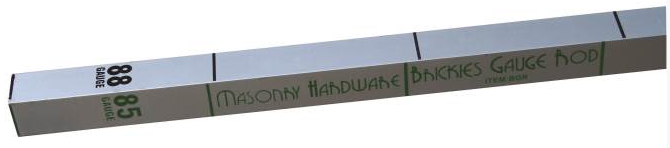Brickies Gauge Rod-Ally
