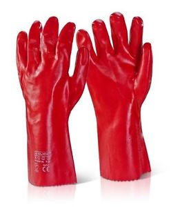 Gloves Rubber Red (PAIR)