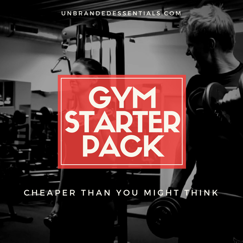 Gym Starter Pack For Less Than You Might Think