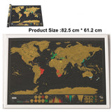 World Scratch Map - unbrandedbargains