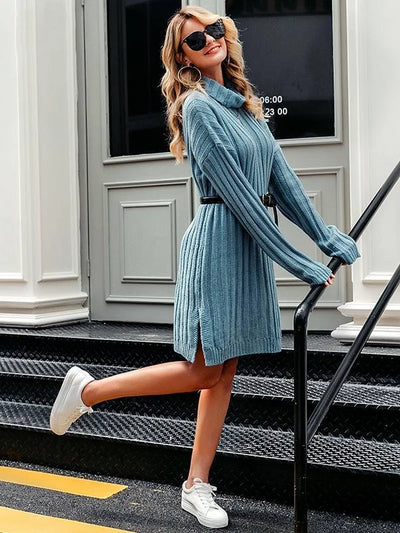 Winter Blues Dress