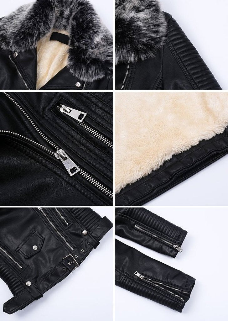Roar Leather Jacket