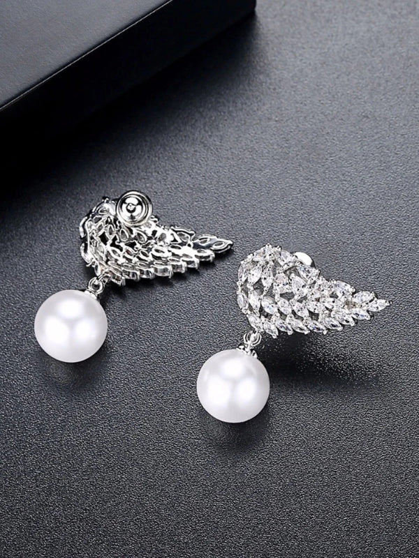 Pearl Wings Earrings