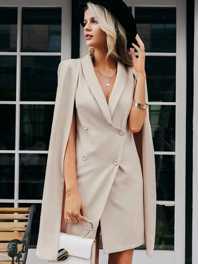 Luxurious blazer dress made for the finest of women who know what they want!