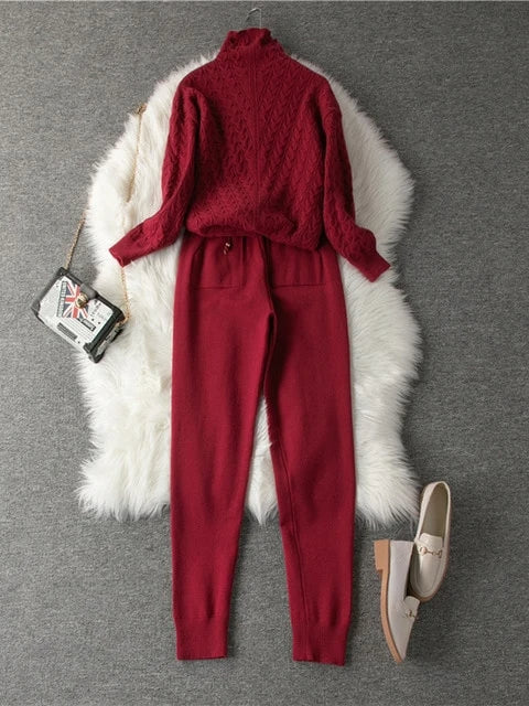 Jenna Knitted Suit