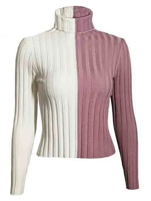 White or Pink Sweater