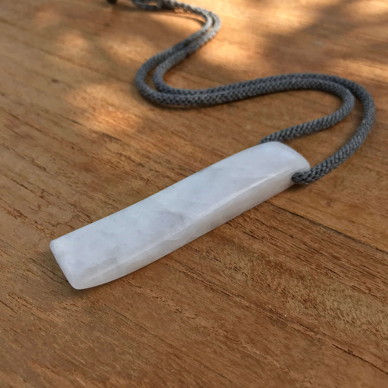 Quartz GeoBraid Toki Necklace