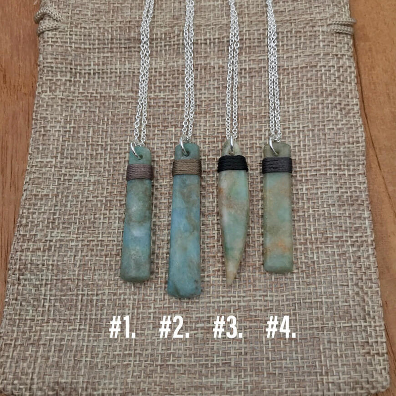 Bound Aotea Sterling Silver Necklaces