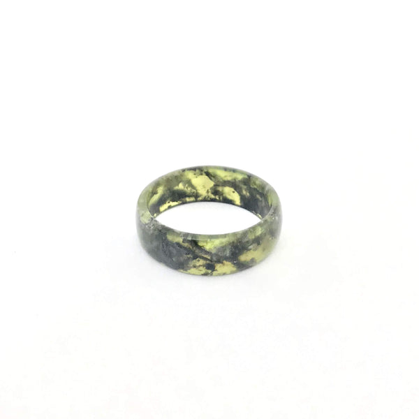 Pounamu (Serpentinite) Ring