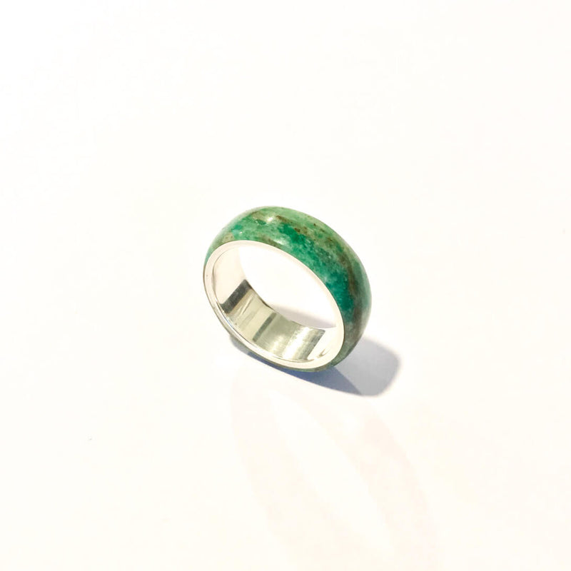 Aotea & Sterling Silver Ring