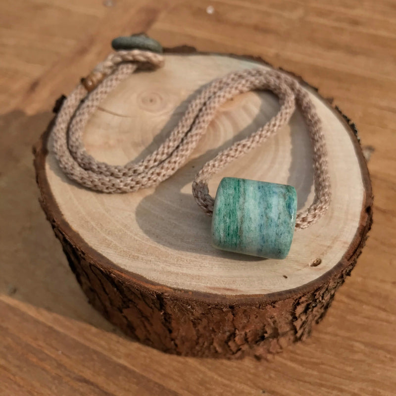 Aotea GeoBraid Bead Necklace