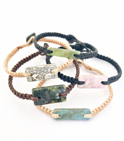 NZ Gemstone Bracelets - Medium