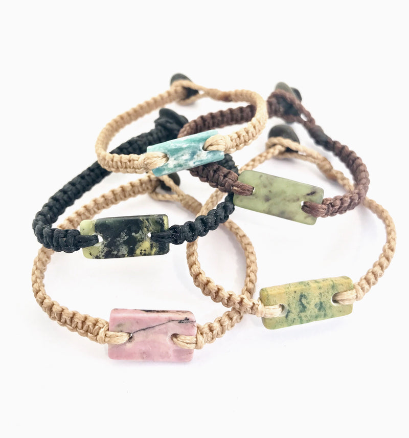 NZ Gemstone Bracelets - Small