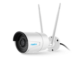 Instacam Reolink RLC-410W - POWERED - 4MP Super HD Camera ( 2560x1440 ) Dual Band WiFi, Digital Zoom, IP65 Weatherproof Outdoor Security IP Camera, High Quality Night Vision & Motion Detection with Audio capability with Micro SD Card Slot