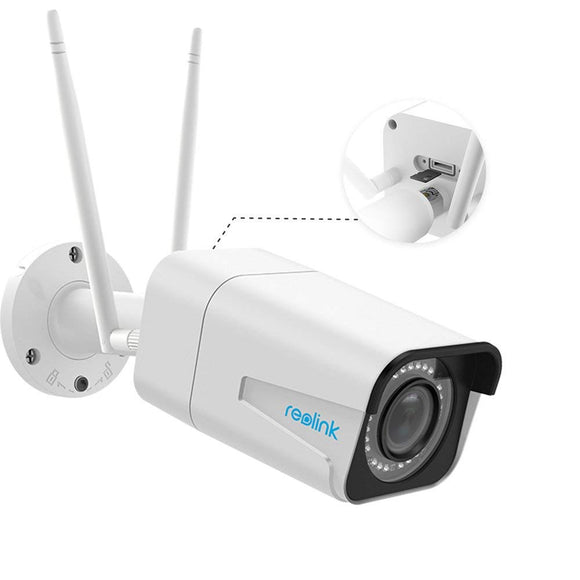 Instacam Reolink 511W POWERED 5MP Super HD WiFi Camera ( 2560x1920 ) - Our Bestselling Outdoor Camera