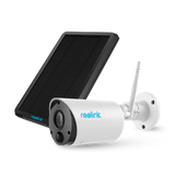 Instacam Reolink ECO - OUTDOOR | WIRELESS | FIXED RECHARGEABLE | WEATHERPROOF | 2 WAY AUDIO
