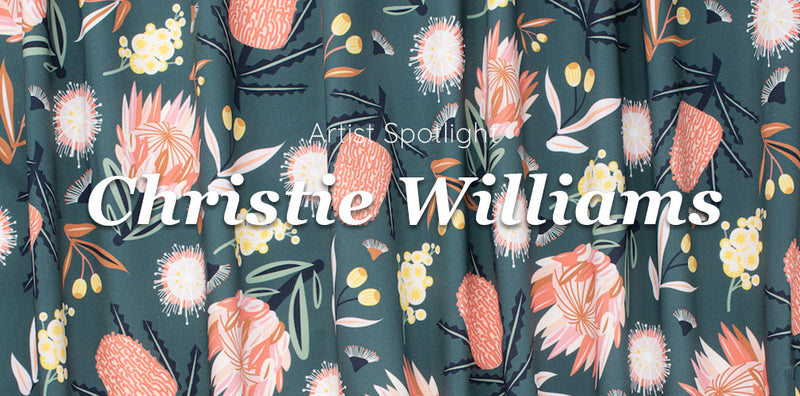 Meet Christie Williams: Nature Inspired Art