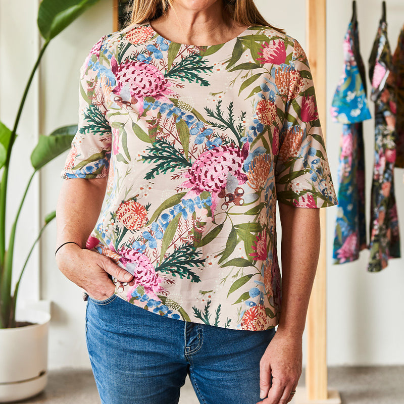 Half Sleeve Top Sewing Pattern