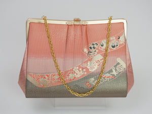 Vintage Japanese Brocade Bag