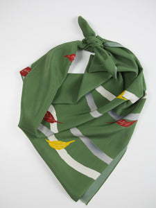 Autumn Leaves Silk Scarf