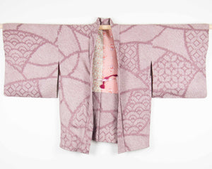 Mauve Traditional Patterns Shibori