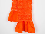 Load image into Gallery viewer, Orange Shibori Obiage