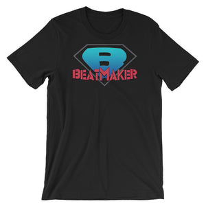 DsiTECH Fashion T-SHIRT for Men (BeatMaker Super Hero, Producer, Musician)