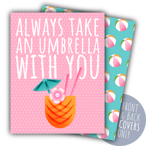 Always Take an Umbrella with You Digital Planner Covers