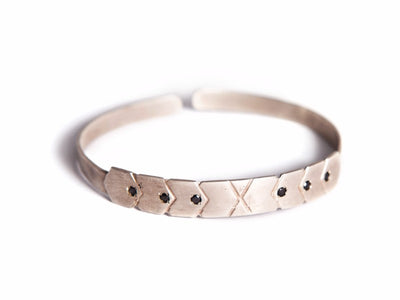 Inbar Shapira Hexagon Cuff Bracelet