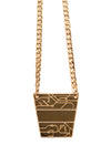 Inbar Shapira Pyramid Necklace