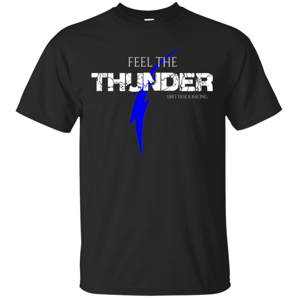 "Dirt Track Racing Shirts - ""Feel The Thunder"" Pit Crew Shirt"