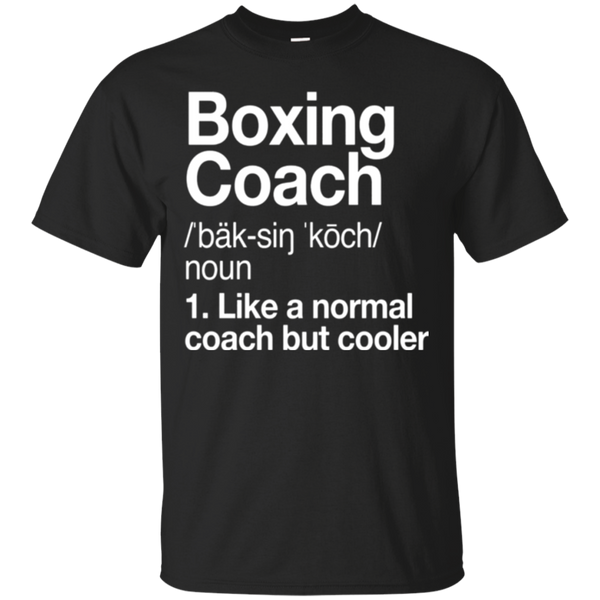 Boxing Coach Funny Definition T-shirt Trainer Gift Tee