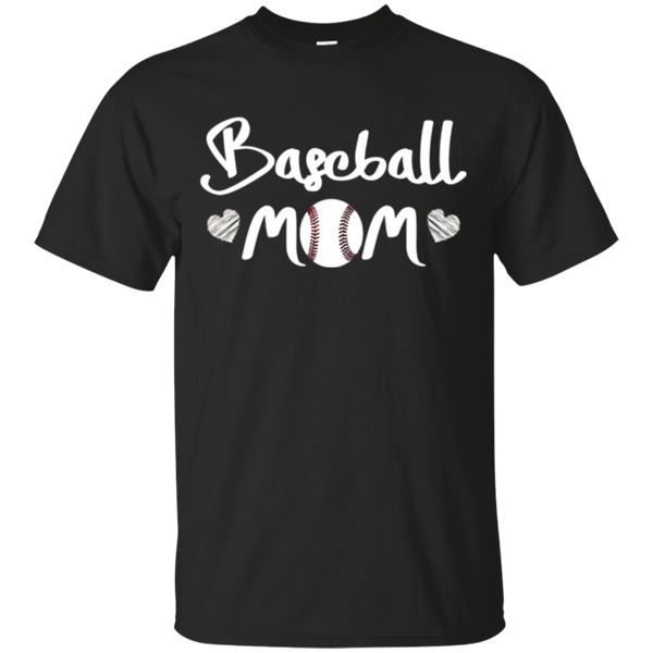 I Love My Boys Baseball T Shirt for Mom-Baseball Mom Shirts