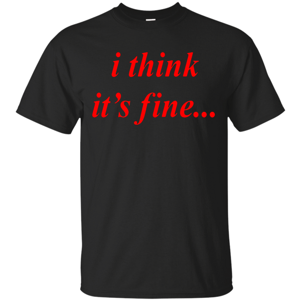 """i think it's fine..."" Danny Duncan Gary Winthorpe T-Shirt"