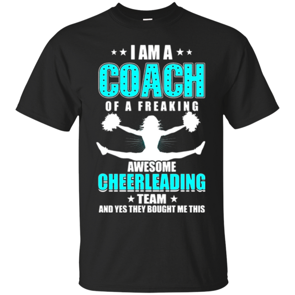 Cheerleading Team Coach T Shirt Funny Cheer Shirt